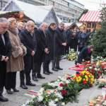Mit einem stillen Gedenken ist am zweiten Jahrestag des Anschlags auf den Berliner Weihnachtsmarkt a