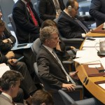 Security Council meeting on situation in Ukraine Permanent Representative of Germany Christoph Heusg