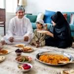 muslimische Großfamilie