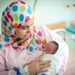 Muslima Baby Geburt