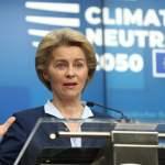 (191213) — BRUSSELS, Dec. 13, 2019 — Ursula von der Leyen, president of the European Commission, speaks at a press con