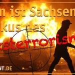 Sachsen im Fokus des Linksterrorismus (Bild: Ein Prozent)
