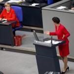 Deutschland Berlin Bundestag 245 Sitzung Vereinbarte Debatte zur Situation in Deutschland Bund