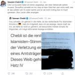 Chebli – alles anzeigen (Bild: Twitter)