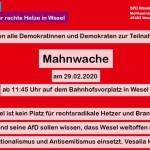 SPD Mahnwache (Bild: Twitter)