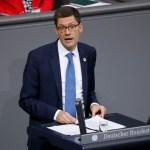 Beauftragten der Bundesregierung für die neuen Bundesländer, Christian Hirte (CDU/CSU), Deutschland, Berlin, Bundestag,