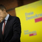 News Themen der Woche KW06 News Bilder des Tages Christian Lindner, FDP-Bundesvorsitzender gibt ein Statement im Hans-Di