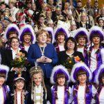 February 19 2019 Berlin Germany German Chancellor Angela Merkel attends a reception of German