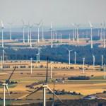 Luftbild, Windräder, Windpark, Henglarn, Lichtenau, Ostwestfalen-Lippe, OWL, Nordrhein-Westfalen, Deutschland !ACHTUNGxM