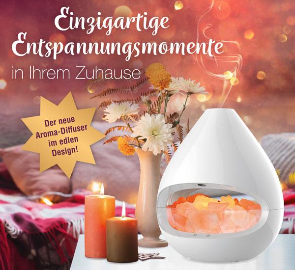 Weihnachten Kopp - Aroma-Diffuser mit Salzkristall-Leuchte - Kopp Verlag 69,99