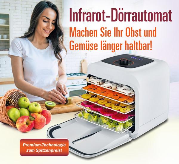 Infrarot Dörrautomat - Kopp Verlag 199 Euro