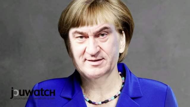 Söder-Merkel; Foto: © jouwatch Collage