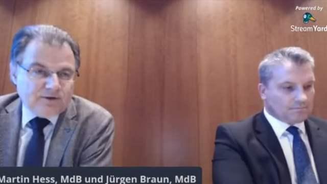 Pressekonferenz zu Schorndorf: AfD fordert nach Angriffen Schutz von Polizei und Staat