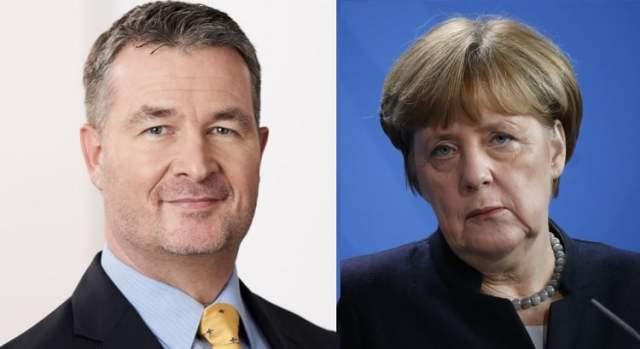 Albert Weiler (Bild: Wolfganghennes; siehe Link;CC BY-SA 4.0 /) Angela Merkel (Bild: shutterstock.com/Von360b)