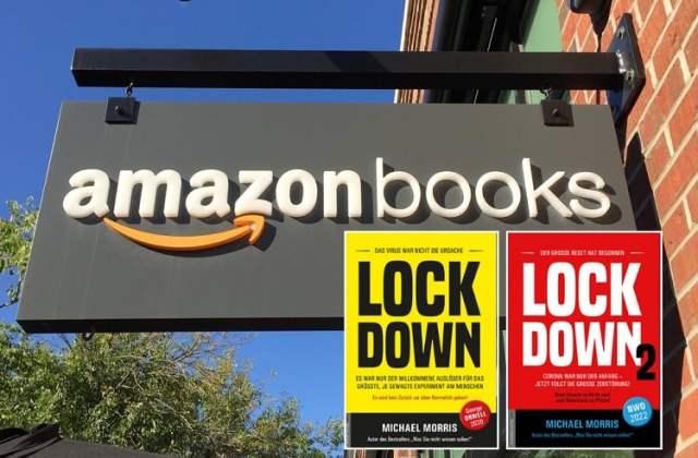 Amazonbooks (Bild: shutterstock.com/Von Pamela Brick // Screenshot)