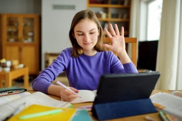 Homeschooling (Bild: shutterstock.com/Von MNStudio)