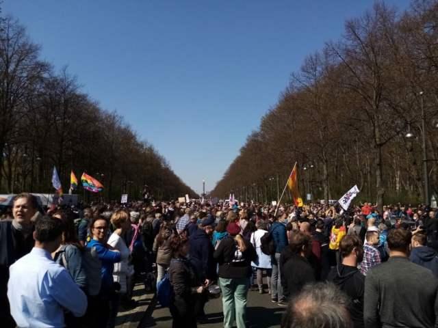 Berlin am 21.04.2021; Foto: Privat