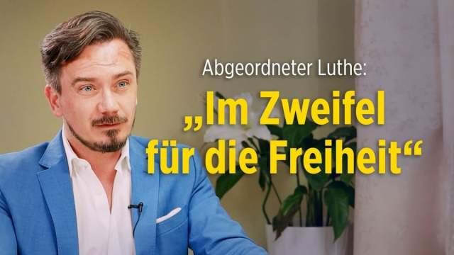 """Luthe: """"Wir rechnen uns schwindelig mit Zahlen"""" – Neues Infektionsschutzgesetz """"verfassungswidrig""""; Bild: Startbild Youtube"""