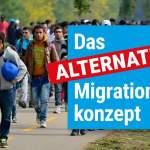 Das Alternative Migrationskonzept: Drei zentrale Regelungsbereiche – Ein abgestimmter Gesetzentwurf!; Bild: Startbild Youtube