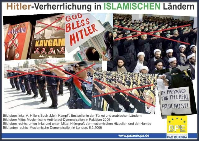 Hitler-Verherrlichung in ISLAMISCHEN Ländern; Bild: BPE