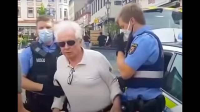 Polizei vs friedliche Bürger; Bild: Startbild Youtube
