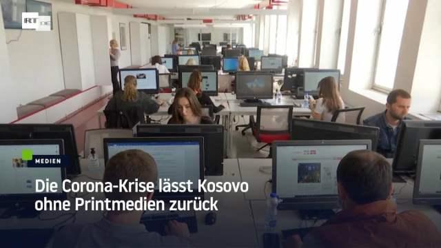 Corona-Politik lässt Kosovo ohne Printmedien zurück; Bild: Startbild Youtube