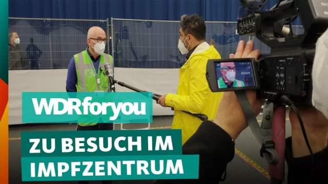 Gelsenkirchen: So läuft es im Impfzentrum; Bild: Startbild Youtube