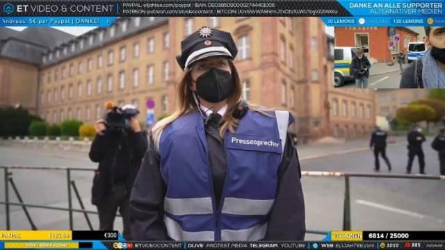 Elijah Tee zerlegt ZDF Team vor laufender Kamera; Bild; Startbild Youtube