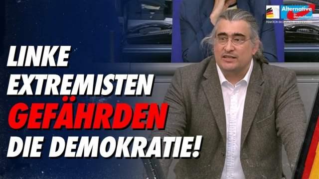 Linke Extremisten gefährden die Demokratie! - Fabian Jacobi; Bild: Startbild Youtube