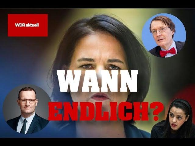 Hausdurchsuchungen bei Baerbock, Chebli, WDR, Spahn?; Bild: Youtube Startbild