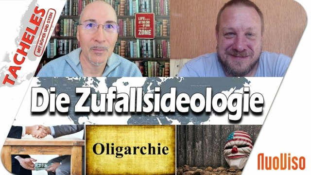 Die Zufallsideologie - Tacheles #60; Bild: Startbild Youtubevideo