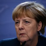 Chancellor,Of,Germany,Angela,Merkel,Gives,A,Media,Conference,At