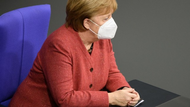 Angela Merkel (Bild: shutterstock.com/Von photocosmos1)
