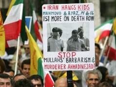 Hinrichtung im Iran (Symbolbild: IMAGO UPI Photo)