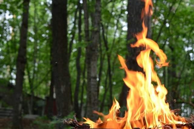 Offenes Feuer (Symbolbild: shutterstock.com/Von maxa0109)
