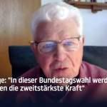 """Politologe: """"Bei dieser Bundestagswahl werden die Grünen die zweitstärkste Kraft""""; Bild: Startbild Youtube"""
