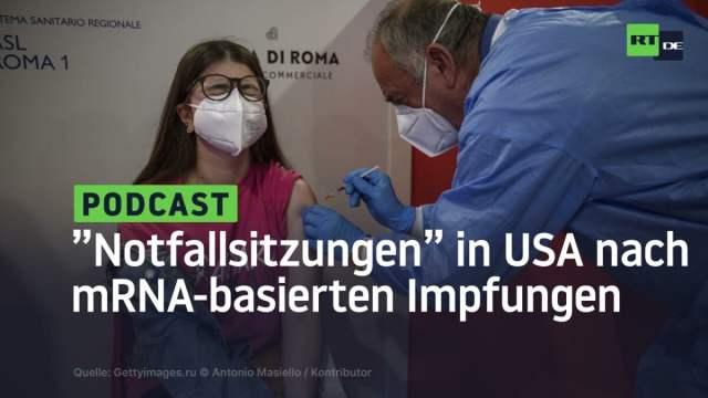 Notfallsitzung in den USA: Hunderte erleiden Herzentzündungen nach mRNA-basierten Impfungen; Bild: Startbild Youtube