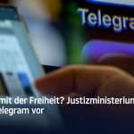 Justizministerium leitet Verfahren gegen Telegram ein; Bild: Startbild Youtube