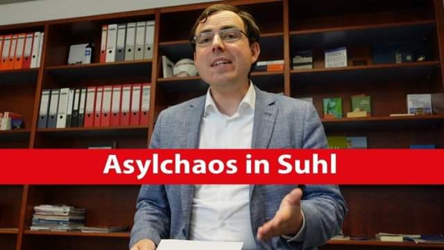 Asylchaos in Suhl | Dr. Anton Friesen; Bild: Startbild Youtube