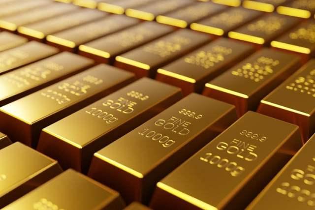 Goldbarren (Symbolbild: shutterstock.com/Von Hernan E. Schmidt)