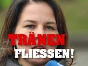 Tim Kellner: Annalena Baerbock weint bitterlich; Bild: Startbild Youtubevideo Tim Kellner