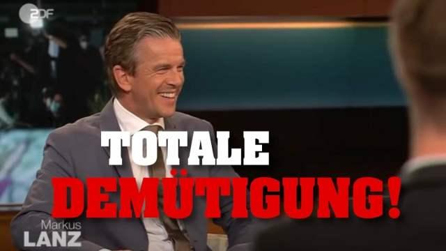 Tim Kellner: Markus Lanz lacht stotternden Grünen-Politiker aus!; Bild: Startbild Youtubevideo Tim Kellner
