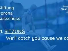 Corona-Ausschuss Sitzung 61: We'll catch you cause we can; Bild: Startbild Youtubevideo