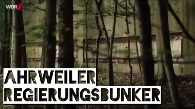 Der Regierungsbunker in Ahrweiler; Bild: Startbild Youtube