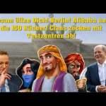 Alibaba und die 150 Räuber! Clans zocken in Testzentren ab! Sesam öffne dich!; Bild: Startbild Youtubevideo Politik Stammtisch