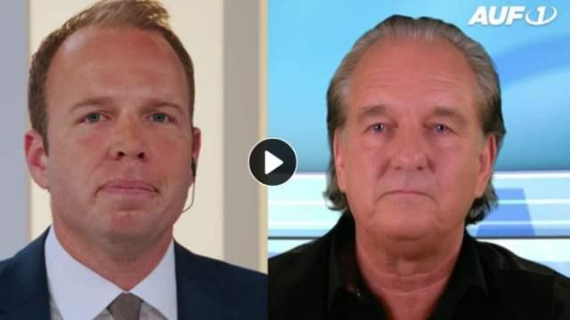 Stefan Magnet im Gespräch mit Andreas Popp; Quelle: AUF1.tv
