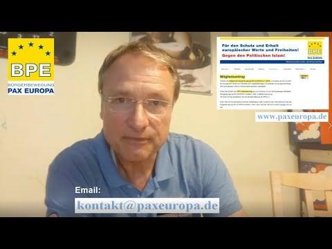 Ausblick auf kommende Kundgebungen der BPE; Bild: Startbild Youtubevideo BPE