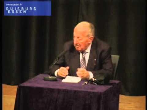 Dr. Peter Scholl-Latour: Siegen in Afghanistan?; Bild: Startbild Youtubevideo UDEchannel
