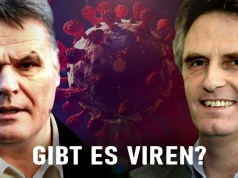 Gibt es Viren? - Stefan Lanka vs. Ulrich Kutschera; Bild: Startbild Youtubevideo Gunnar Kaiser