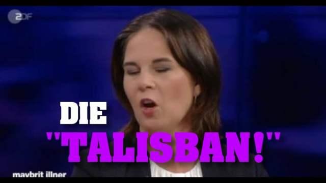 Annalena Baerbock verhöhnt mutig die Taliban!; Bild: Startbild Youtubevideo Tim Kellner